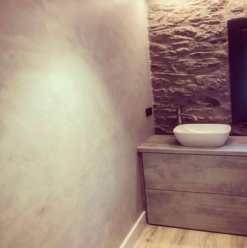 PB – stone bathroom